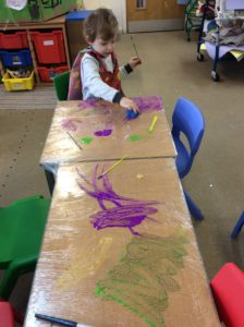 Mark Making Fun Broomhill School